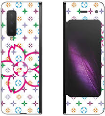 Amazon Com Decalrus Protective Decal Floral Skin Sticker For Samsung Galaxy Fold Cellphone Case Cover Wrap Sagalaxyfold 88
