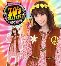 a vine 70s hippie peace mark jane