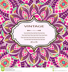 Invitation Mandala Card Stock Vector Illustration Of Card 53819175