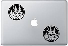 Amazon Com Pnw Pacific Northwest Leporedecals1098 Set Of Two 2x Decal Sticker Laptop Ipad Car Truck Computers Accessories