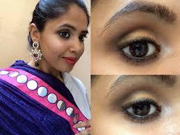 indian bridal makeup look eye makeup