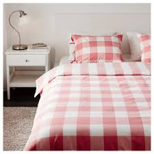 red duvet cover blue gingham lavender