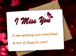 miss you sms missing love es for