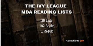 the mba reading list according to the