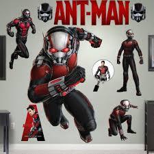Ant Man Wall Sticker Decal Antman Vinyl Super Hero Marvel Decals Decor Removable Ant Man Wall Sticker Superhero
