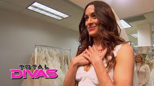 brie bella goes ping for a wedding