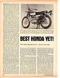 1968 honda 350 scrambler motorcycle