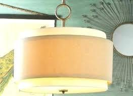 drum pendant light shades