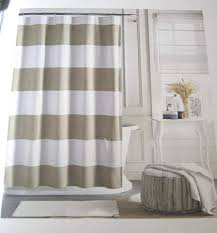 cabana stripe shower curtain