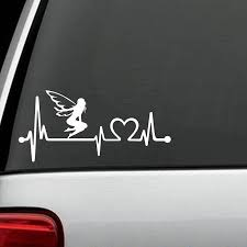 2020 Fairy Heartbeat Monitor Decal Sticker Car Truck Surface Art Painting Car Stickers Vinyl Decor Decals From Xymy797 3 52 Dhgate Com