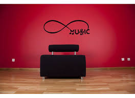 Red Barrel Studio Infinity Sign Symbol Music And Notes Wall Decal Wayfair