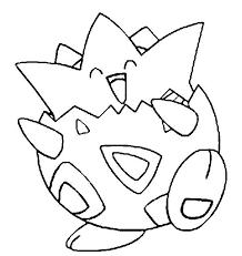 Togepi Met Afbeeldingen Kleurplaten Pokemon Kleuren