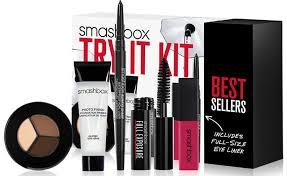 smashbox cosmetics try it makeup kit