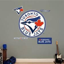 Fathead Toronto Blue Jays Wall Decals Toronto Blue Jays Toronto Blue Jays Logo Blue Jays