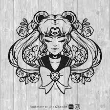 Sailor Moon Clip Art Svg Download Etsy