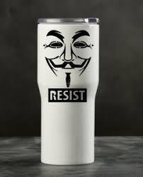 Anonymous Vinyl Decal Car Sticker Laptop Resist 5 1 2 Oracal Ebay