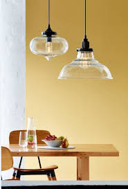 milton clear glass pendant light shade