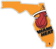 Miami Heat Nba Basketball Florida Car Bumper Window Notebook Sticker Decal Decals Stickers Collectibles Empireo Cosmetics Ro