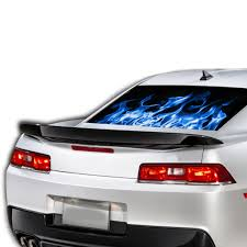 Perforated Decal Chevrolet Camaro Decal 2015 Present
