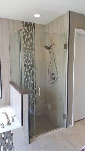 right angle frameless shower doors