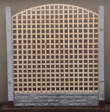 6ft X 6ft Arch Bow Top Privacy Trellis Lattice Fence Panels Raw Lattice Fence Panels Wooden Fence Panels Lattice Fence