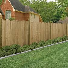 Shop Severe Weather Pressure Treated Wood Spruce Pine Fir Fence Panel Common 8 In X 6 Ft Actual Fence Panels Spruce Pine Pressure Treated Wood