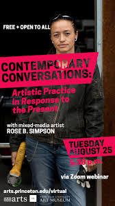 Contemporary Conversations: Artistic Practice in Response to the Present —  Rose B. Simpson