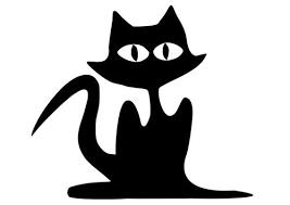 Kleurplaat Zwarte Kat Zwarte Kat Katten Zwarte Katten