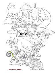 Neuken Kan Niet Slapen Volwassen Kleurplaat Van De Etsy