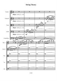 String Theory by C. Burton - sheet music on MusicaNeo