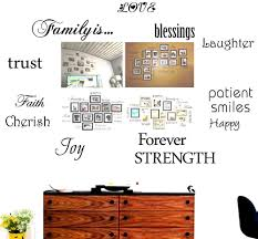 Amazon Com Family Wall Decals Set Of 12 Family Words Quote Art Stickers Wall Decal No Photos And Frames Included Baby
