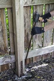 Fence Post Repair Fence Post Repair Diy Fence Fence Post
