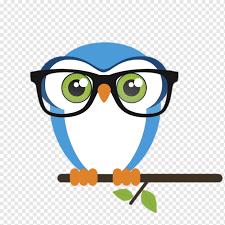Eule Vogel Brille Nerd, Eule, Tier, Tiere, Kunstwerk png | PNGWing