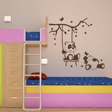 Panda Friends Wall Decal Style And Apply