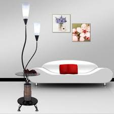 Led Floor Lamp 2 Head Tall Pole Standing Reading Lamp For Living Room Bedroom Kids Room My Aashis