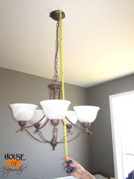 replacing the chandelier