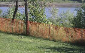 Construction Site Perimeter Fencing Orange Safety Barriers