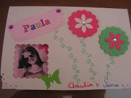 Invitaciones Cumpleanos De Paula By Corisko Hecho A Mano