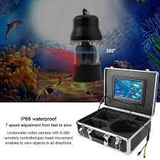 20M 9in LCD Câu Cá Dưới Nước Video Camera Ghi Hình Hệ Thống Xoay 360 Độ Họa  Tiết Cá|Camera giám sát