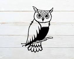 Owl Tumbler Decal Etsy