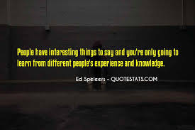 top quotes about knowledge from experience famous quotes