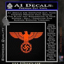 Nazi Swastika Eagle Wreath Decal Sticker A1 Decals