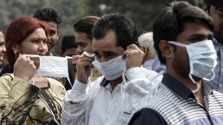 बिहार में प्रदूषित हवा का असर
