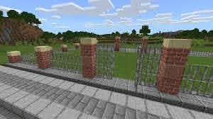 Minecraft Fancy Brick Fence Guide Gamerheadquarters