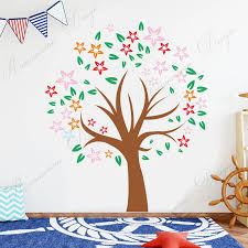 Colorful Tree Wall Sticker Vinyl Home Decor Kids Room Boy Girl Bedroom Nursery Wall Decals Removable Diy Murals Wallpaper 3a69 Wall Stickers Aliexpress