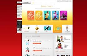 Nike+ Relaunch by Adam Jesberger, via Behance | Web design, Visual design,  Icon design