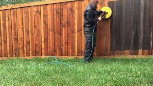 Professional Fence Cleaning By Clear As Day Pressure Washing Youtube
