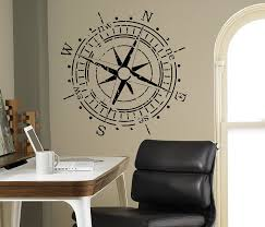 Buy Compass Rose Wall Vinyl Decal Nautical Marine Sea Wall Sticker Home Wall Art Decor Ideas Wall Interior Removable Kids Room Design 5 Mrn In Cheap Price On Alibaba Com
