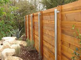 Pin By April Myers On Back Yard Metal Fence Posts Steel Fence Posts Wood Fence Post