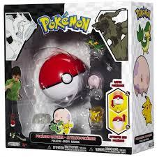 Pokemon Black White Series 1 Catcher Pikachu, Snivy Munna Figure 3 ...